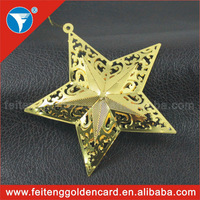Europe style metal decoration Christmas gifts,metal decoration for Christmas and party promotion gifts