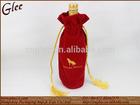 cheap fantastic fabric material wine bottle pacakge gift bag