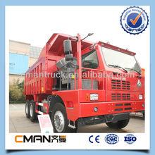 SINOTRUK 6x4 dump truck 371hp Gravel Transport 60t loading capacity for sale