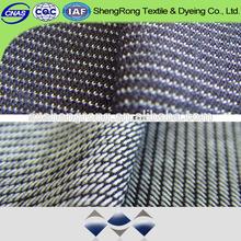 CVC Cotton And Polyester Spandex Denim jean fabirc