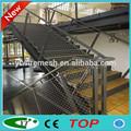 Dayanıklı paslanmaz çelik merdiven koruma örgü( üreticileri)