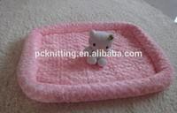 2014 New Design Fashion Pet Products 100PCS Pink Blue Cotton Cloth S M L XL Honorable Pet Mat