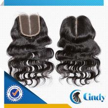 natural black middle part deep wave virgin bohemian hair free parting lace closure