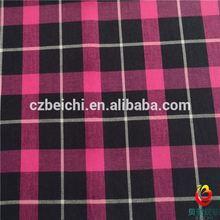 yarn dyed fabric check