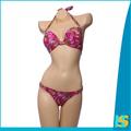 la parte superior 2014 chica sexy micro bikini traje de baño de los modelos