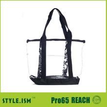2015 Extra large clear pvc tote bag,pvc garment bag,pvc makeup bag