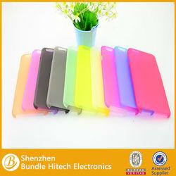 Ultra slim plastic case for iphone 6 ,matte transparent plastic case
