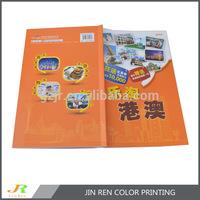 brochure color printing/ travel brochure printing