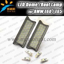 Super white No Error LED Interior Dome/Roof Light Bulbs for BMW E60 E65 E87 1/5/7Series auto led dome light warm white