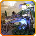 dinosaurio de animación esculturas animatronic equipo de dinosaurio