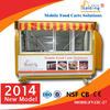 outdoor fast food kiosk/breakfast cart for design(manufacturer)