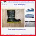 Carregadores dos miúdos chuva/crianças botas/crianças botas de cowboy