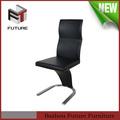 diseño italiano singular y hermosa de la pu silla