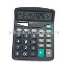 12 digits big button solar calculator, calculator wholesale/ HLD-810