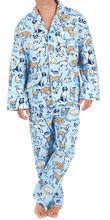 Unique Dog Printed Pajamas For Men