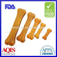 Natural pet snacks smoked rawhide dog chew bones