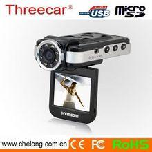 Free sample 2inch IR night vision 1080p night vision and g-sensor gs8000