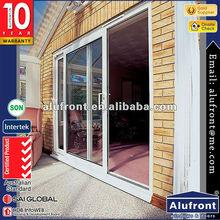 aluminum frame sliding glass door for balcony