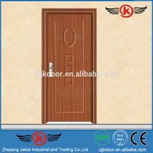 JK-P9048 natural wood skin internal office veneered pvc door