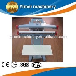 PSF series foot pedal impulse heat sealer, sealing machine