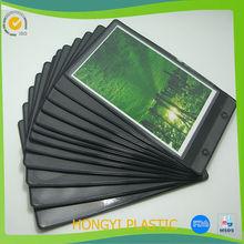 PVC cardboard photo holder,Vinyl pocket photo printer,PVC pocket photo