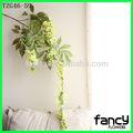 nuovo design glicine artificiale fiore fiori verdi per la casa e la decorazione di nozze