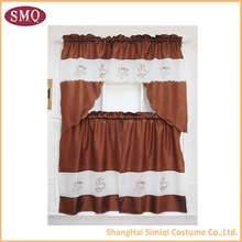 Custom Printed Kitchen Decorative Curtains
