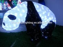 New 3D christmas panda animal light