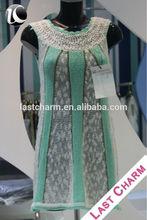 LAST CHARM latest high fashion ladies designers cotton dresses