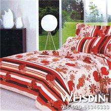 polyester/cottonwholesale fabric little flower girl bedding set