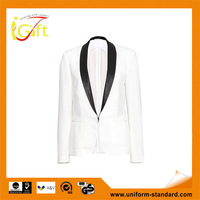 New Design fashion leather women business suits