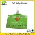 Custom design silicone badge holder for sale