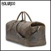Retro Style Roomy Crazy Horse Genuine Leather Luggage Bag