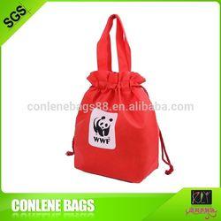 New fashion non woven silk screen tote bag