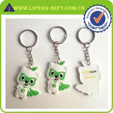 3D Cartoon soft PVC key chain