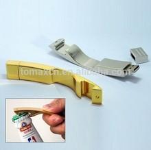 Novelty metal bottle opener usb 2.0 stick flash pendrive wholesale