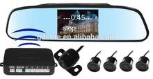2014 Wireless mirror Rear view system TFT LCD video Parking Sensor PZ604W
