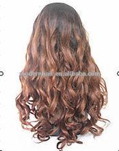 stock glueless full stretch cap lace wigs BRAZILIAN human hair bondings for black women