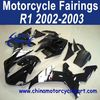 2002 2003 For YAMAHA R1 Moto Fairing Black White Oem FFKYA003