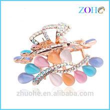 High Quality opal hair claws jaw clip wholesale hair clip hairclaws yiwu jaw clip