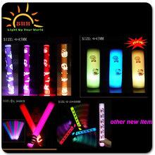 "16"" Flashing Cheering Baton Foam Custom Peel & Stick LED Light"