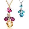 New design elegant necklace real crystal necklace