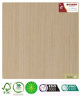 reconstituted veneer laminate door skin oak-A28s with fleece backed FSC certificate quarter cut straight grain