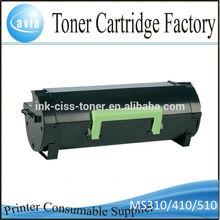 New models Black laser toner for Lexmark MS 310 410 510 610