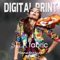 Neuen stil print seide charmeuse stoff print- yc0717- 3