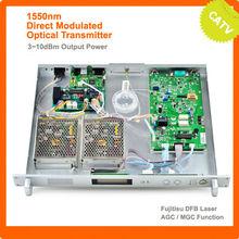 1550nm Directional Modulated Fiber Optic Transmitter for HFC Network/Ortel Laser/7dB