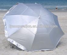 Solar Guard Deluxe Dual Canopy Beach Umbrella