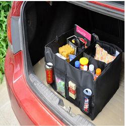 Portable Foldable Large Capacity Multi-use Car Auto Trunk Boot Storage Organizer Box Bag car storage organization