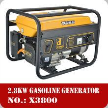 3000 watt AC Single phase petrol electric start generator india price made in china