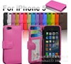 magnet leather flip case for iphone 5
